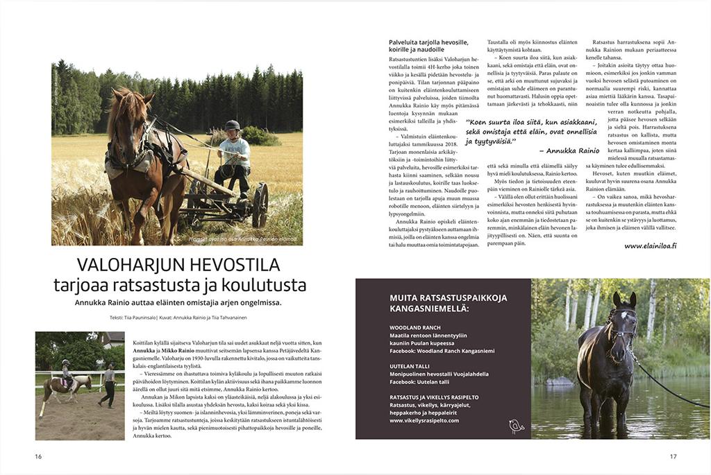 Kangasniemen Matkailulehti 2019