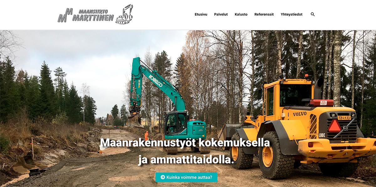 Maansiirto Marttiselle uusi www-sivusto